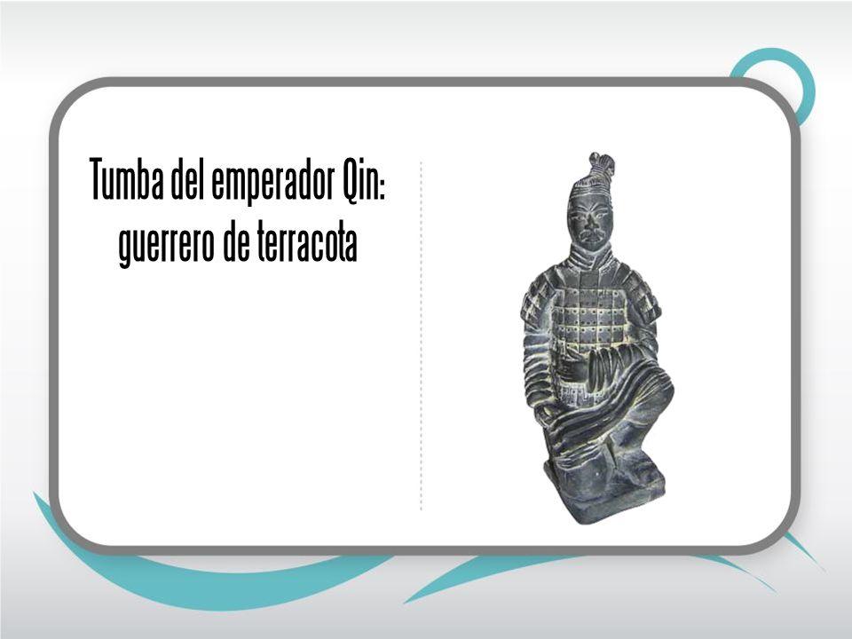 Tumba del emperador Qin: guerrero de terracota