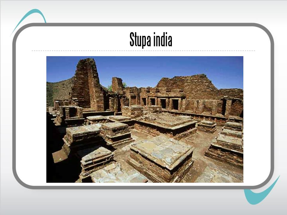 Stupa india