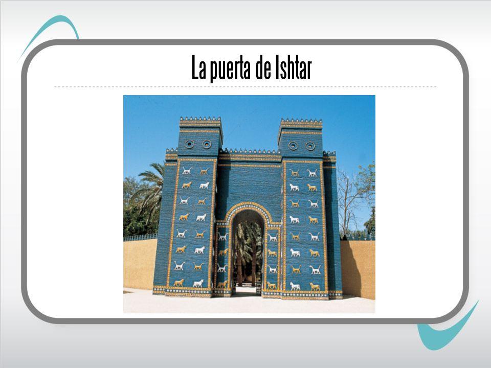 La puerta de Ishtar