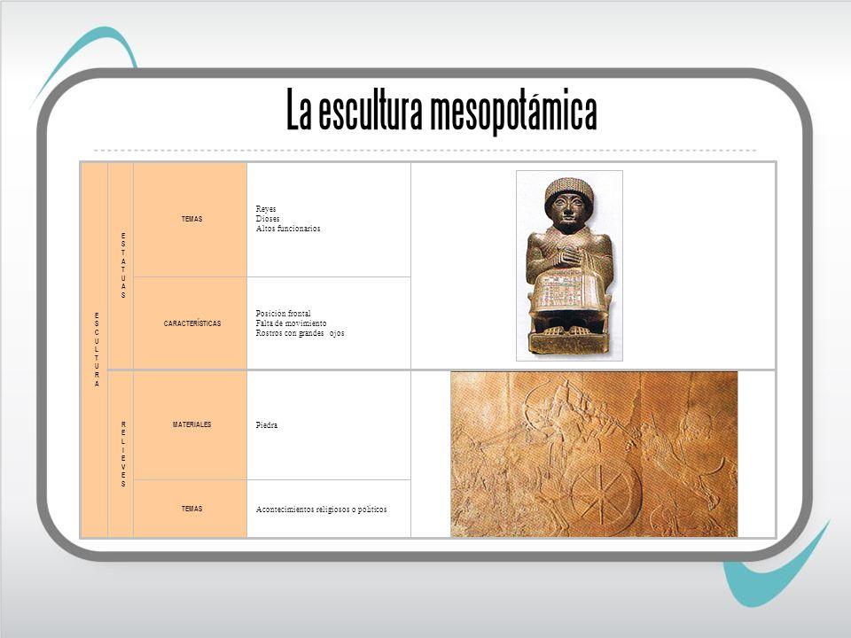 La escultura mesopotámica