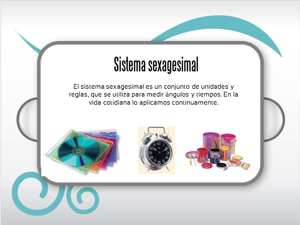 Sistema sexagesimal