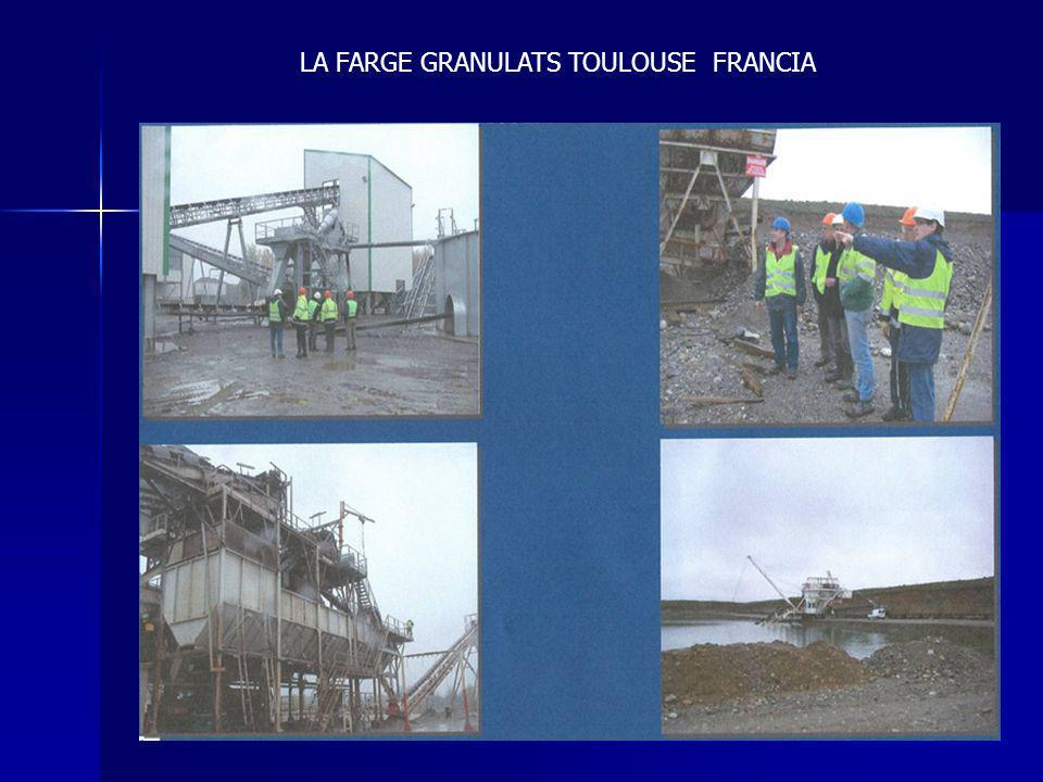 LA FARGE GRANULATS TOULOUSE FRANCIA