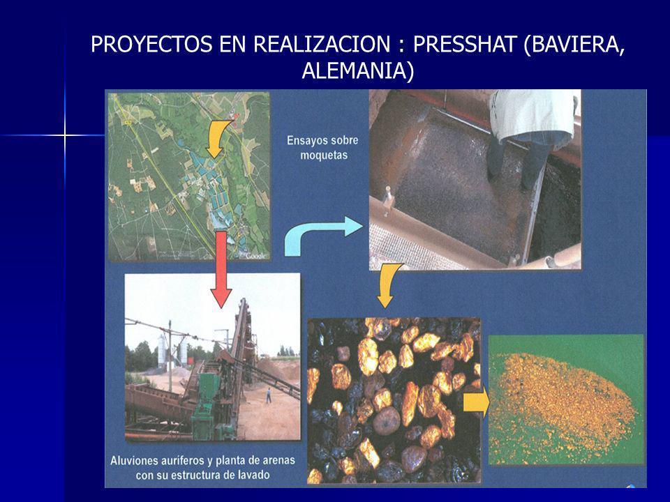 PROYECTOS EN REALIZACION : PRESSHAT (BAVIERA, ALEMANIA)