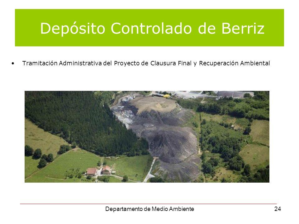 Depósito Controlado de Berriz