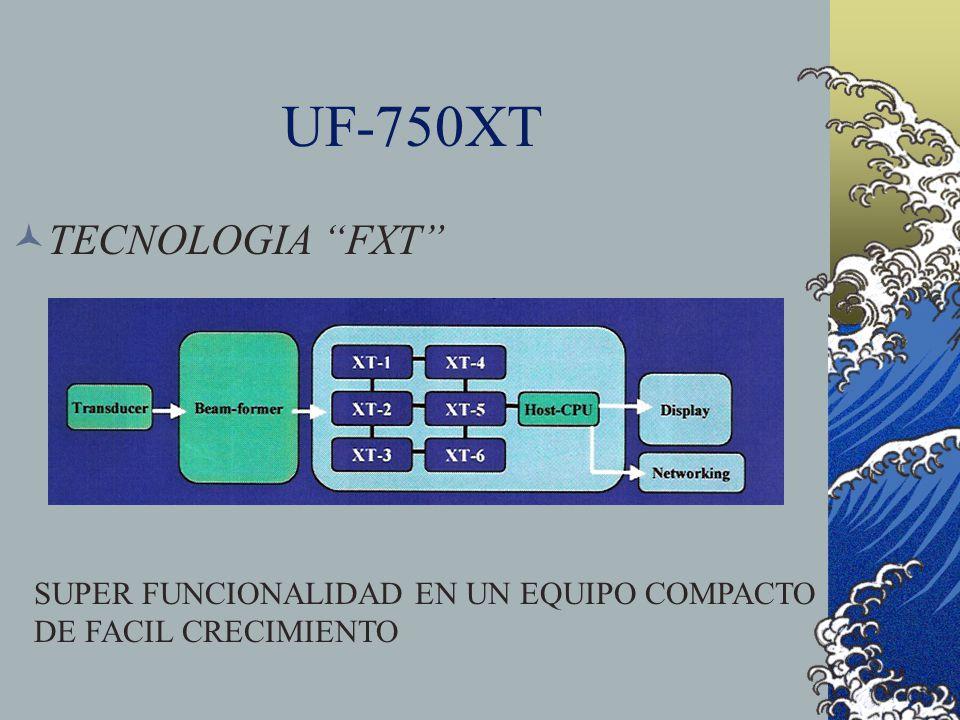 UF-750XT TECNOLOGIA FXT SUPER FUNCIONALIDAD EN UN EQUIPO COMPACTO