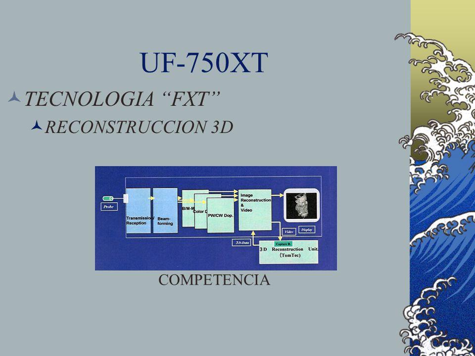 UF-750XT TECNOLOGIA FXT RECONSTRUCCION 3D COMPETENCIA