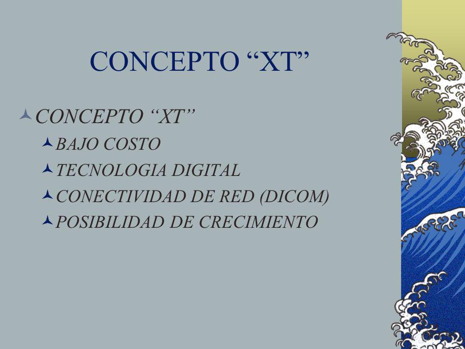 CONCEPTO XT CONCEPTO XT BAJO COSTO TECNOLOGIA DIGITAL