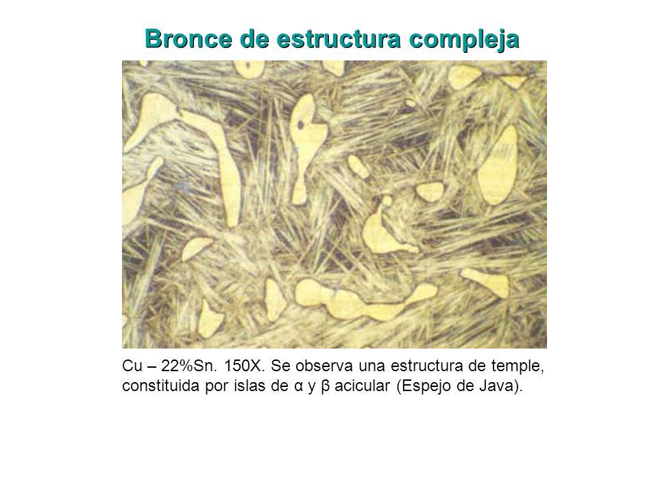 Bronce de estructura compleja