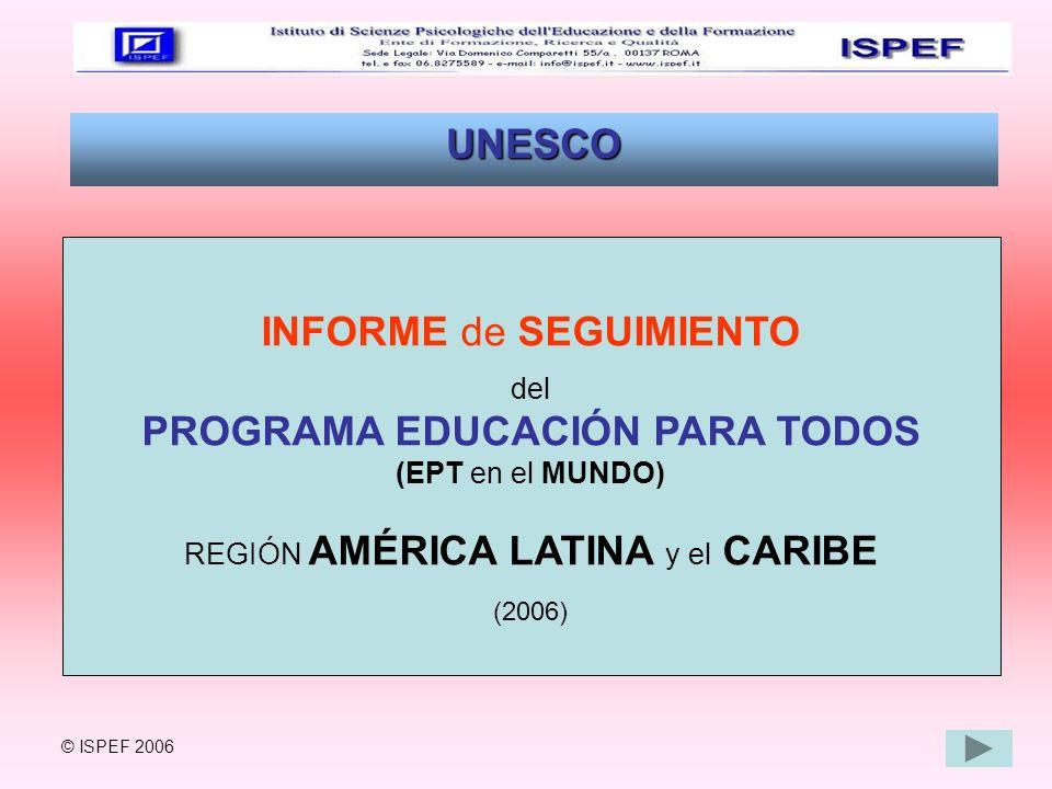 PROGRAMA EDUCACIÓN PARA TODOS
