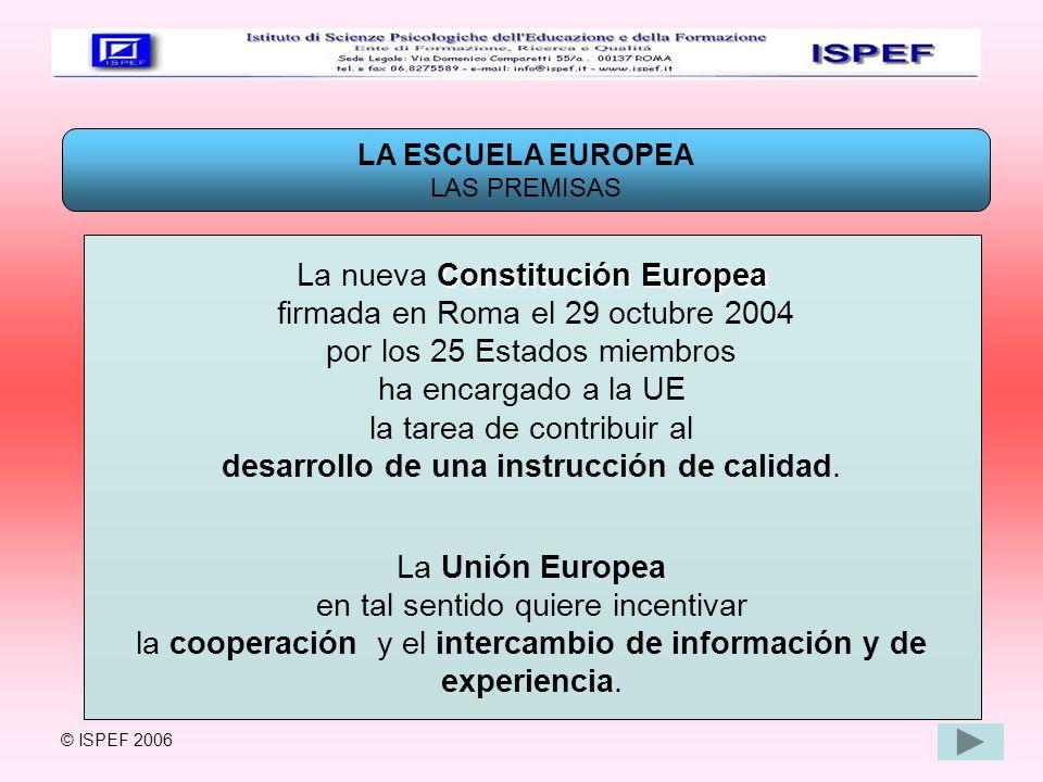 La nueva Constitución Europea firmada en Roma el 29 octubre 2004