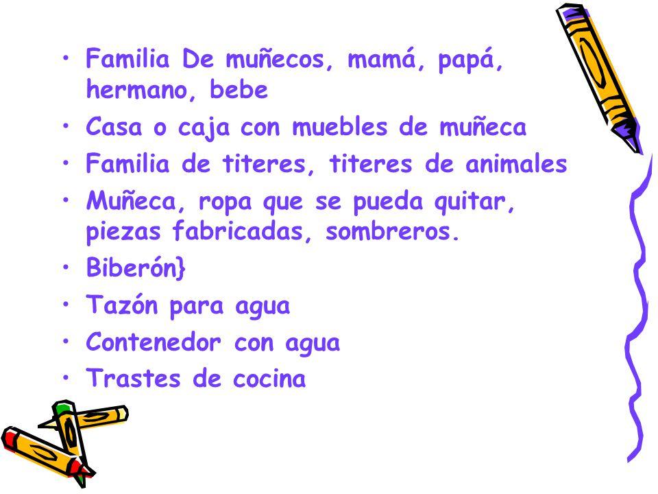 Familia De muñecos, mamá, papá, hermano, bebe