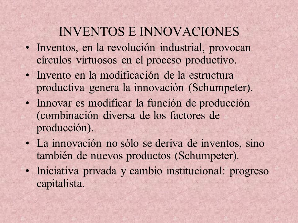 INVENTOS E INNOVACIONES
