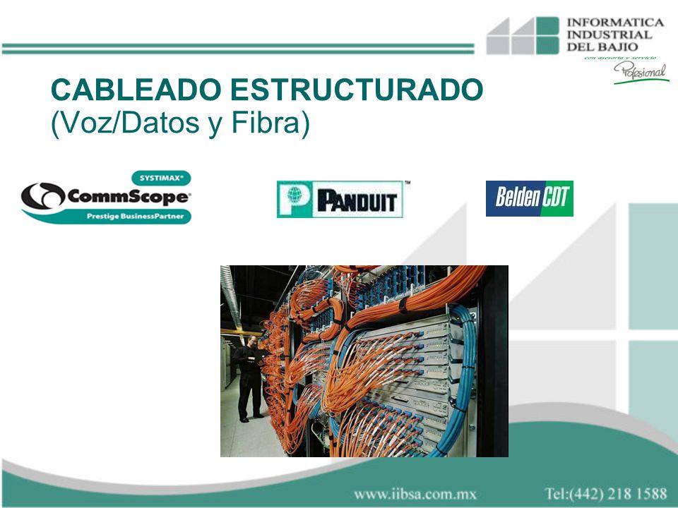 CABLEADO ESTRUCTURADO (Voz/Datos y Fibra)