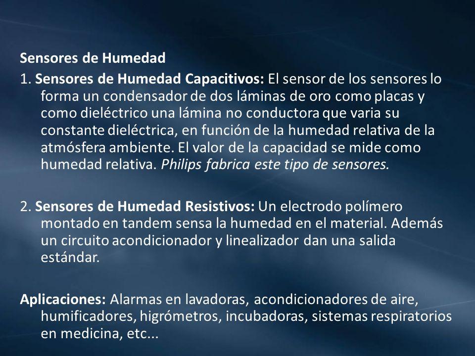 Sensores de Humedad 1.