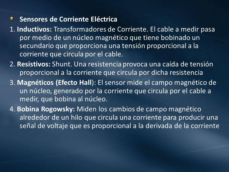 Sensores de Corriente Eléctrica