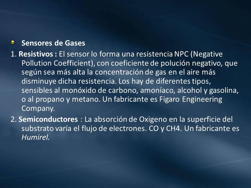 Sensores de Gases
