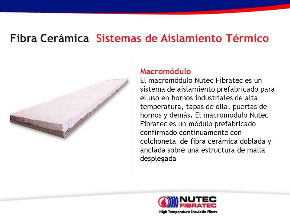 Fibra Cerámica Sistemas de Aislamiento Térmico