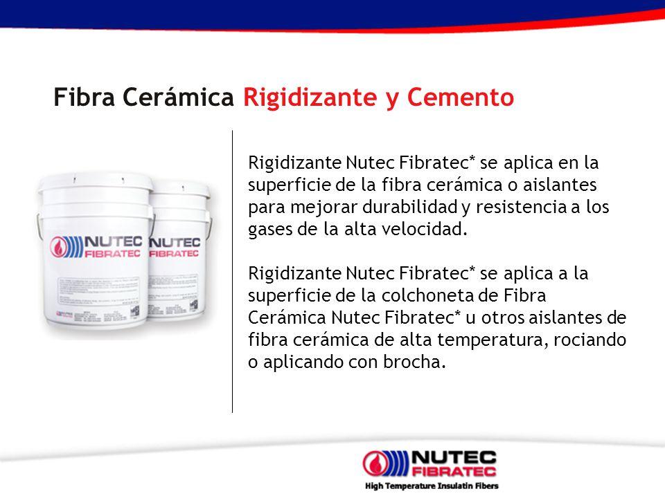 Fibra Cerámica Rigidizante y Cemento