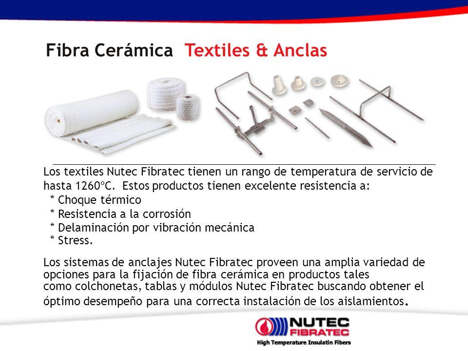 Fibra Cerámica Textiles & Anclas
