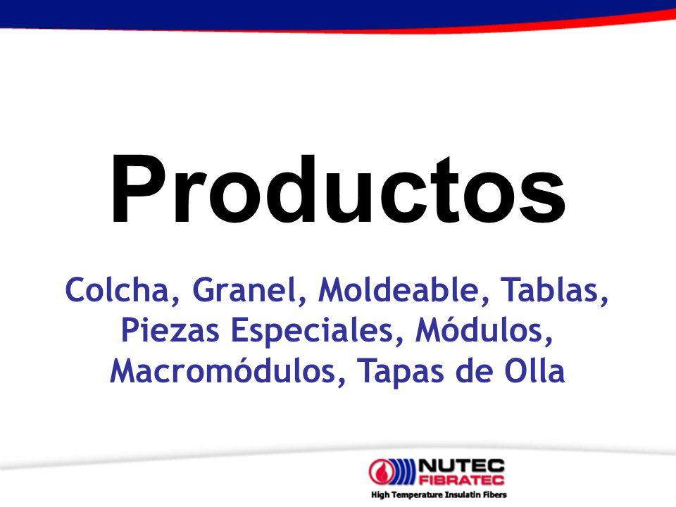 Productos Colcha, Granel, Moldeable, Tablas,