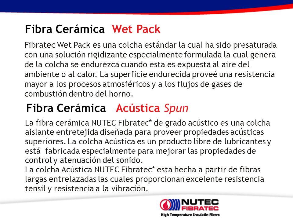 Fibra Cerámica Wet Pack