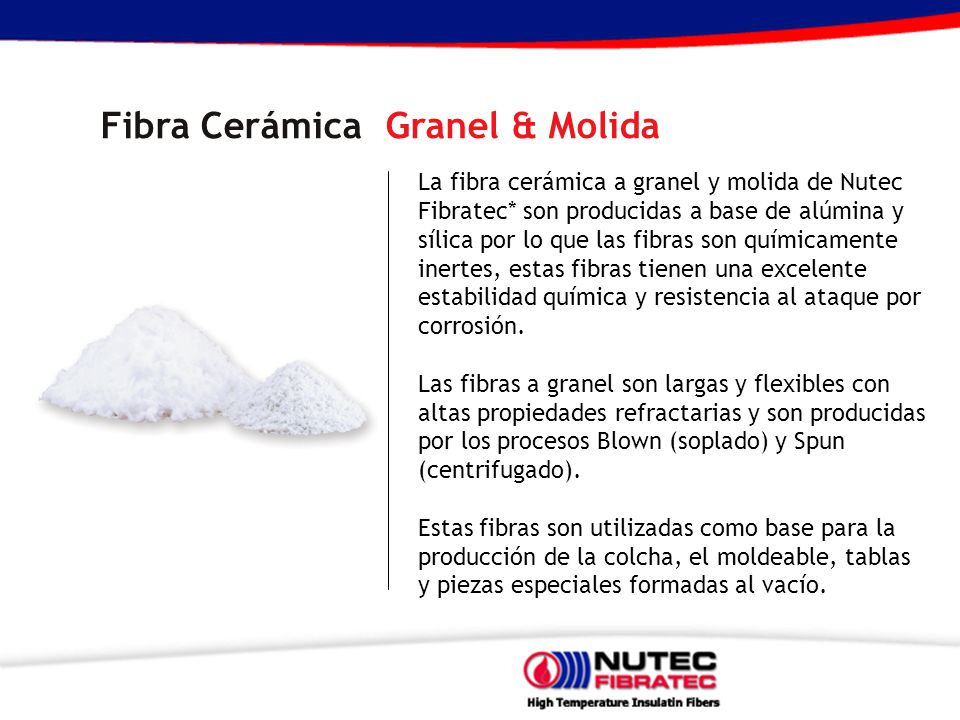 Fibra Cerámica Granel & Molida