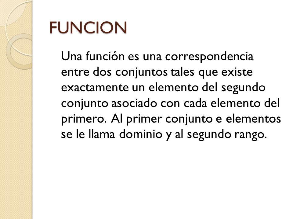 FUNCION