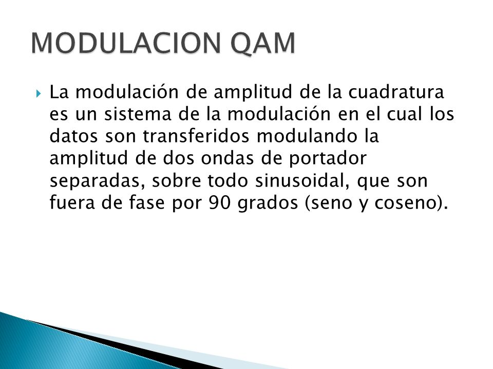 MODULACION QAM
