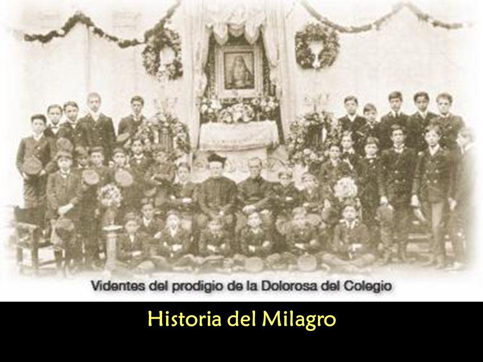 Historia del Milagro