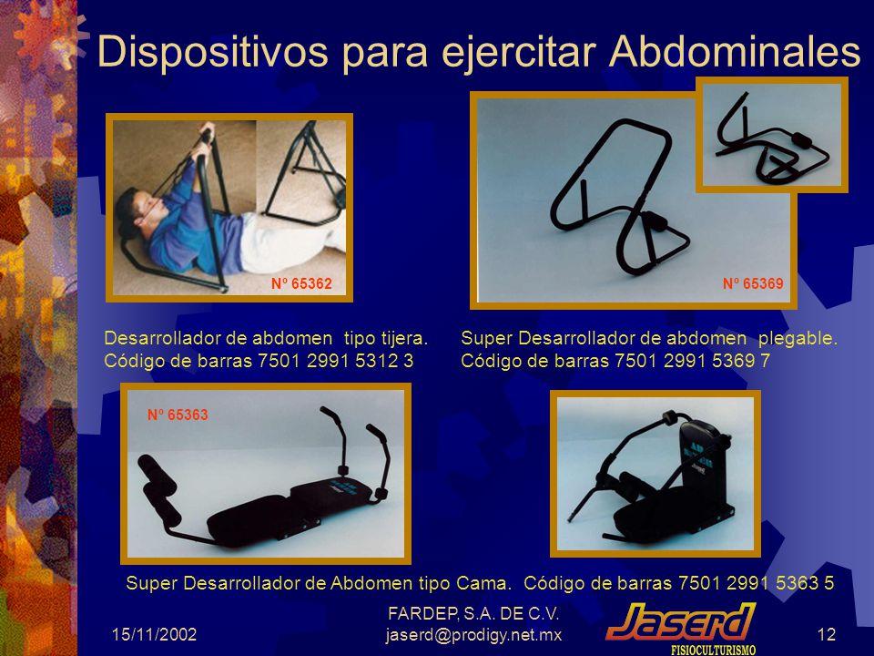 Dispositivos para ejercitar Abdominales