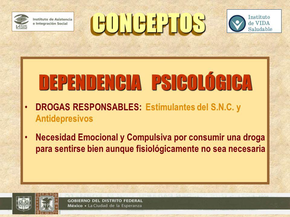 DEPENDENCIA PSICOLÓGICA