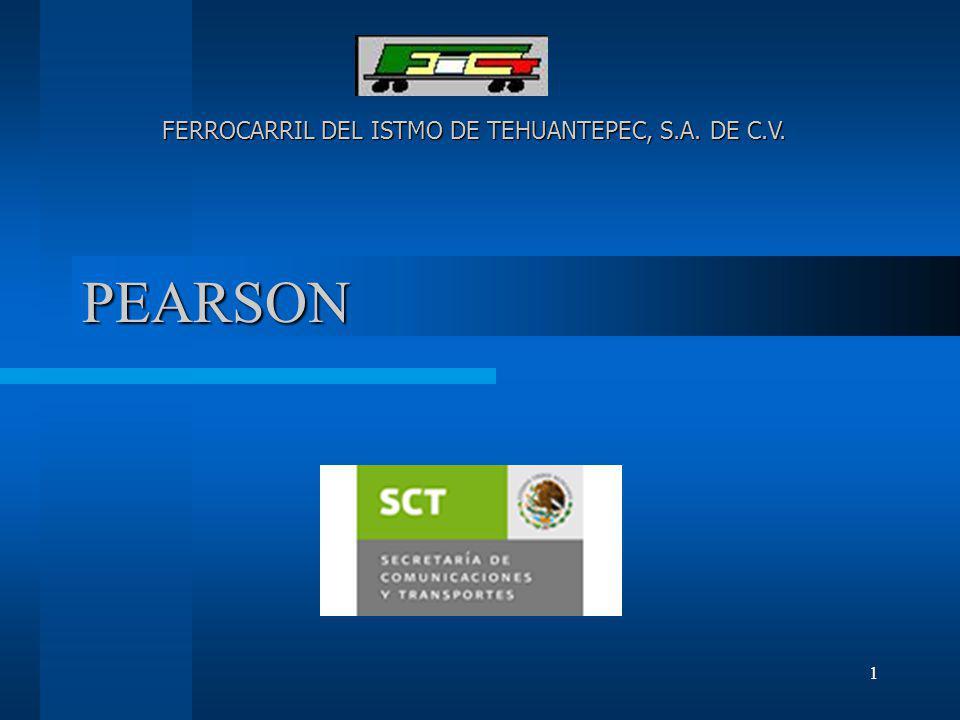 FERROCARRIL DEL ISTMO DE TEHUANTEPEC, S.A. DE C.V.