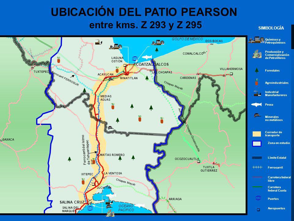 UBICACIÓN DEL PATIO PEARSON