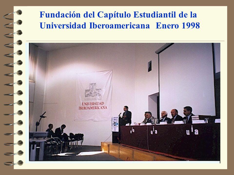 Fundación del Capítulo Estudiantil de la