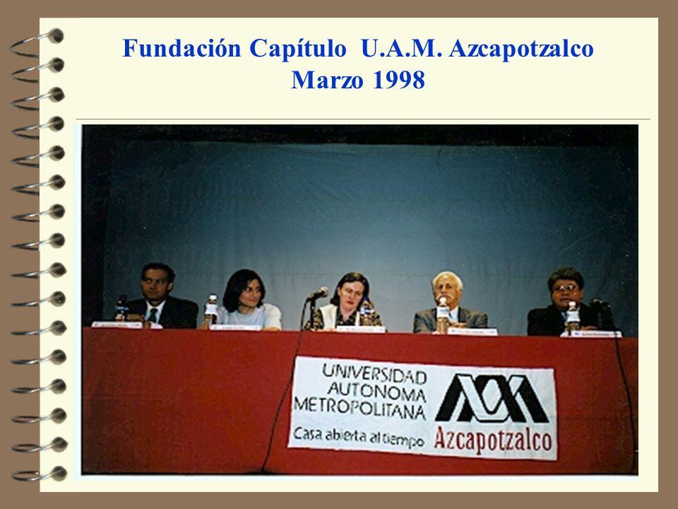 Fundación Capítulo U.A.M. Azcapotzalco
