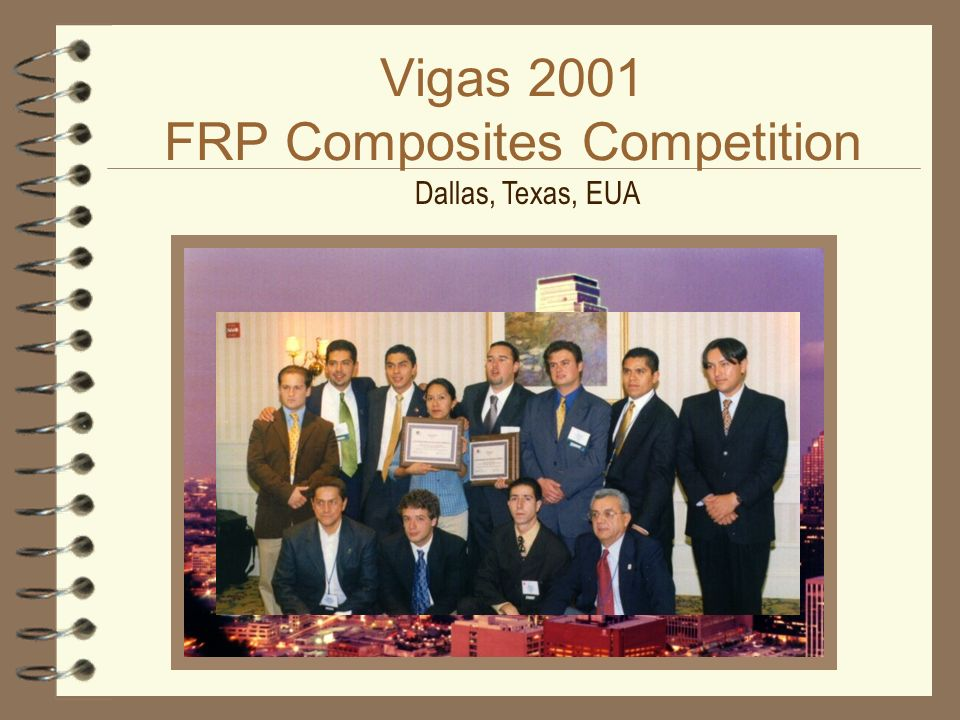 Vigas 2001 FRP Composites Competition