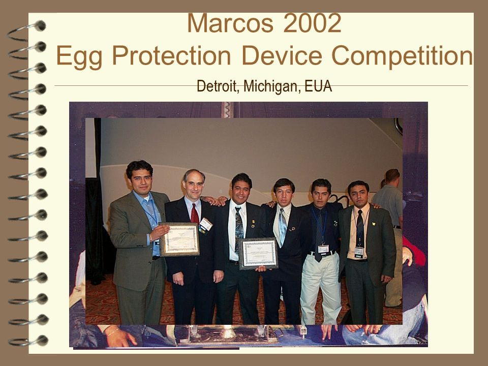 Marcos 2002 Egg Protection Device Competition