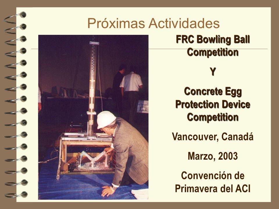 Próximas Actividades FRC Bowling Ball Competition Y