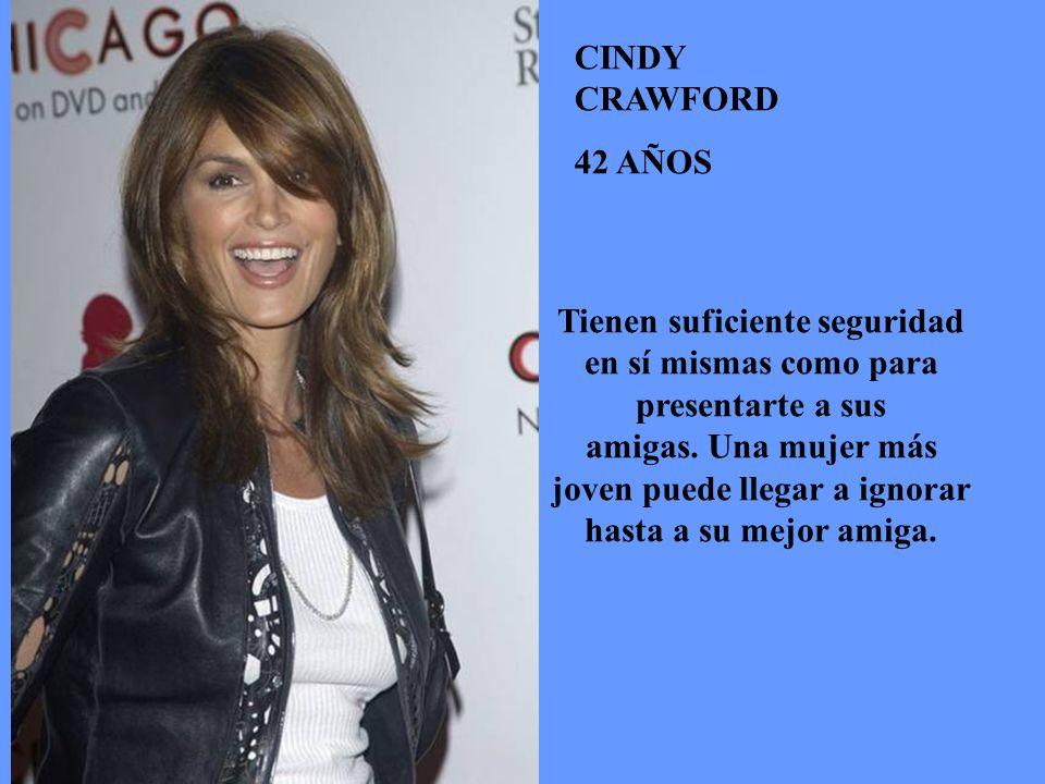 CINDY CRAWFORD 42 AÑOS.