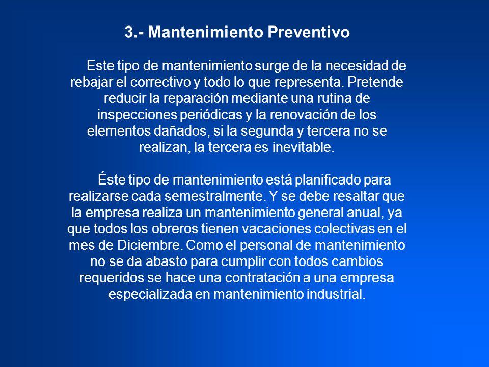 3.- Mantenimiento Preventivo