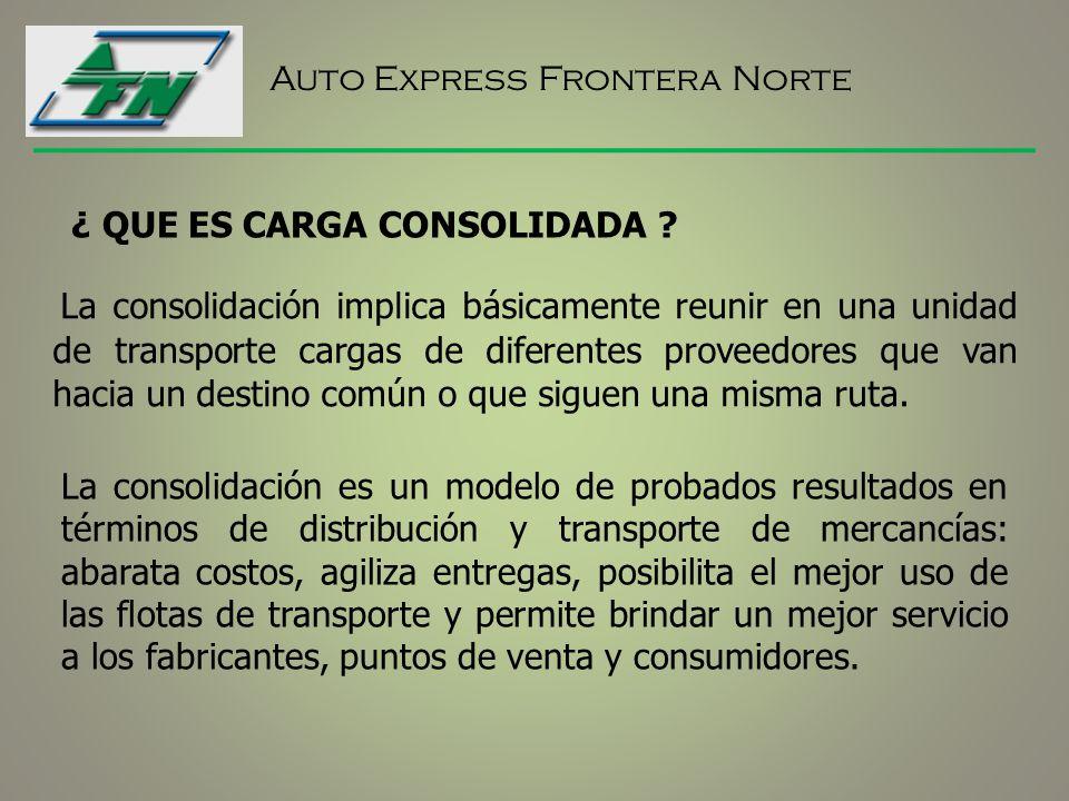 Auto Express Frontera Norte