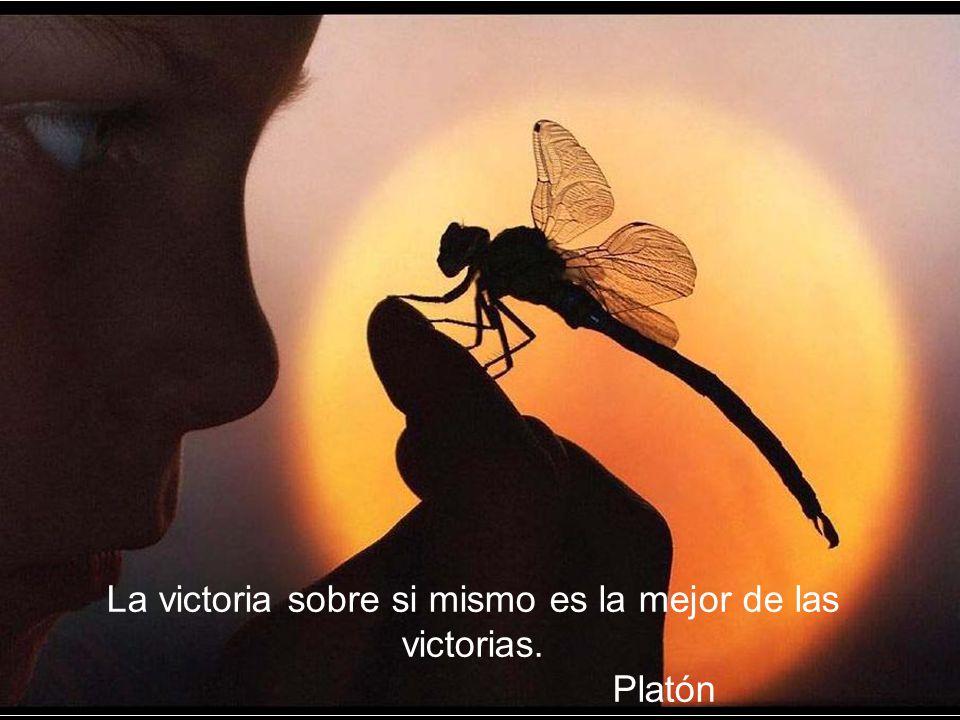 La victoria sobre si mismo es la mejor de las victorias. Platón