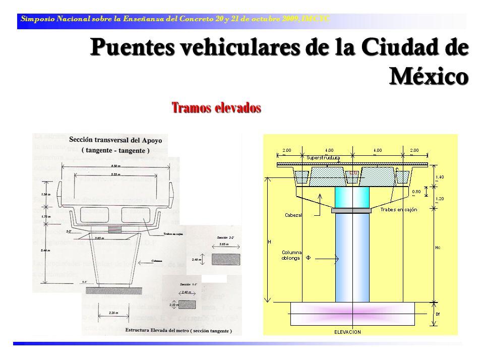 Puentes vehiculares de la Ciudad de México
