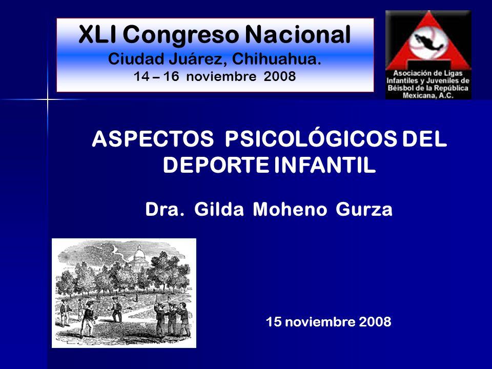 ASPECTOS PSICOLÓGICOS DEL DEPORTE INFANTIL