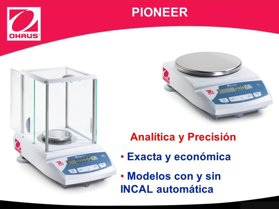 PIONEER Analítica y Precisión Exacta y económica