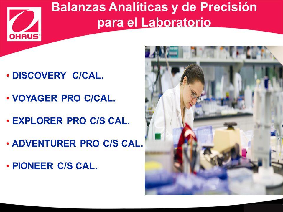 Balanzas Analíticas y de Precisión para el Laboratorio