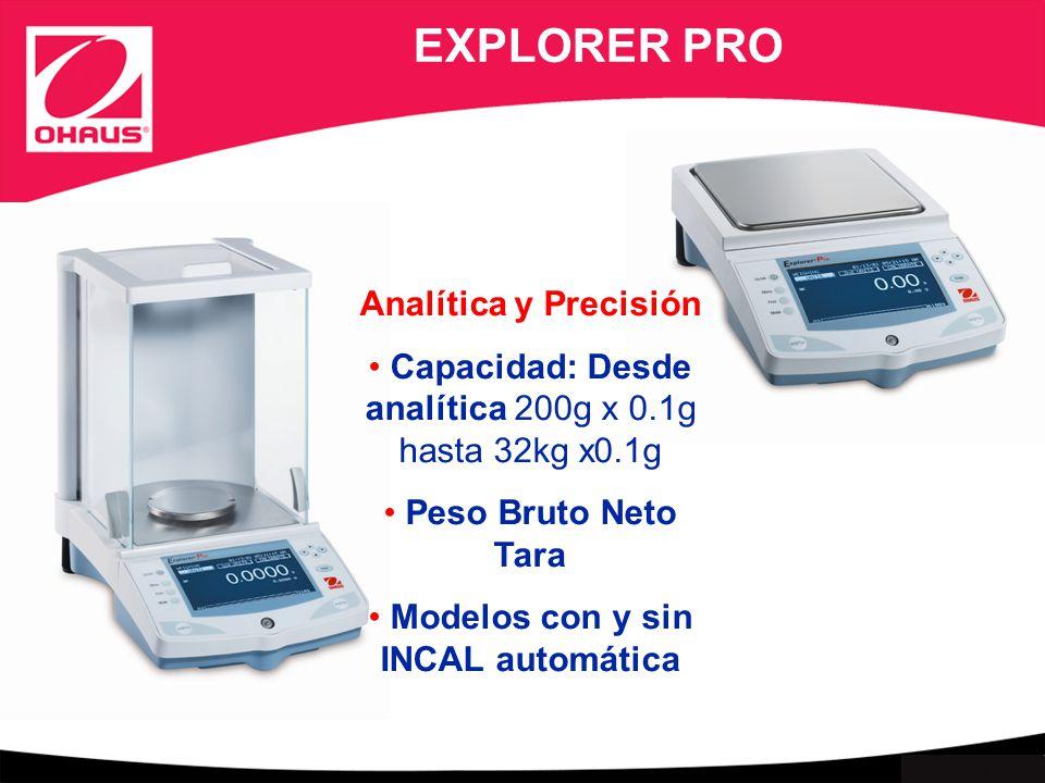 EXPLORER PRO Analítica y Precisión