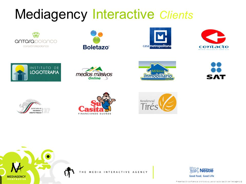 Mediagency Interactive Clients