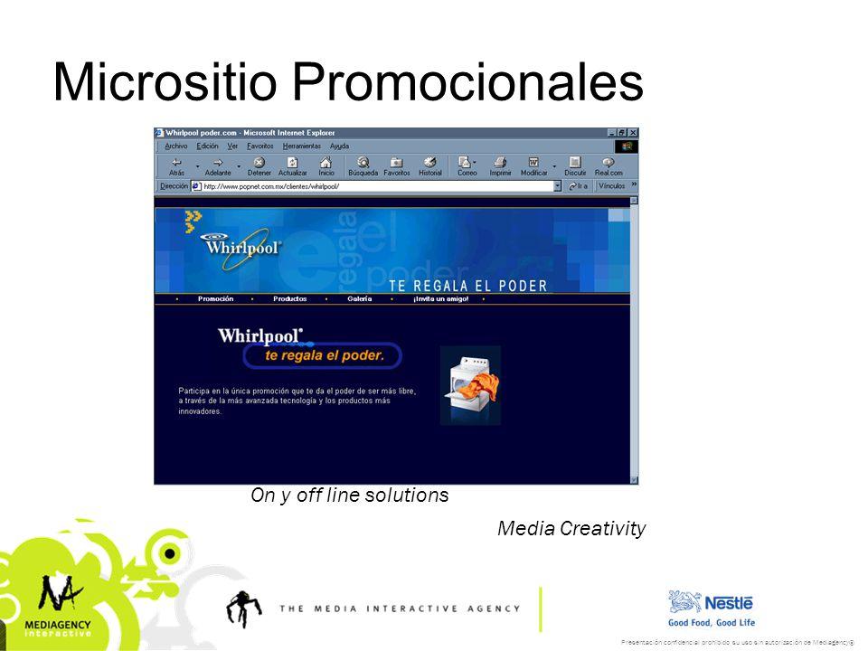 Micrositio Promocionales