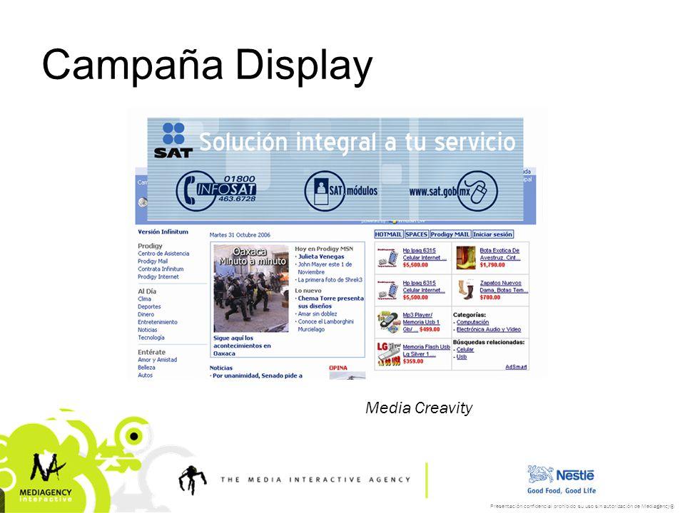 Campaña Display Media Creavity